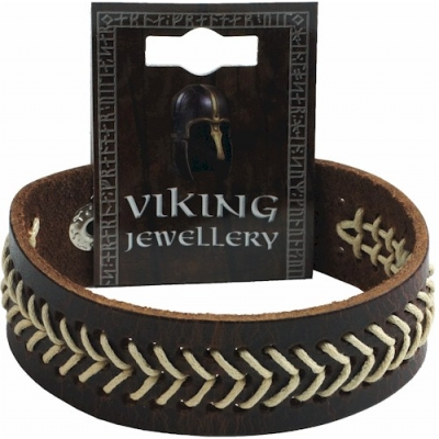 Viking Stitched Leather..