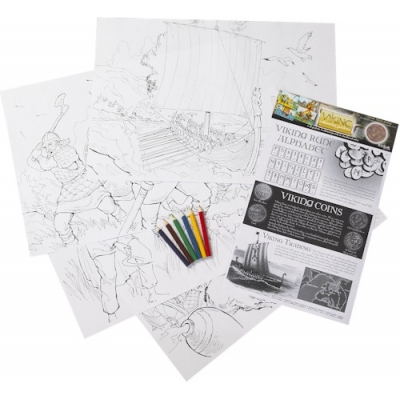 Viking Educational Colouring Posters