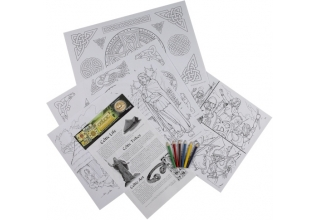Celtic Educational Colouring Posters