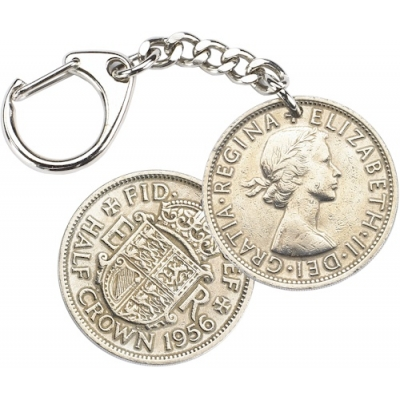 Half Crown Key-Ring - E..