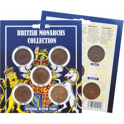 British Monarchs Collection Coin Pack