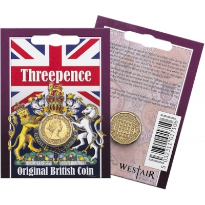 Threepence Coin Pack - Eliza..