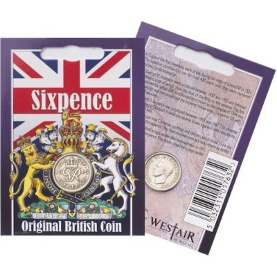 Sixpence Coin Pack - George VI