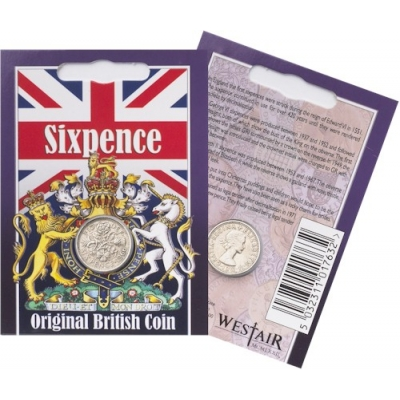 Sixpence Coin Pack - El..