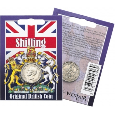 Shilling Coin Pack - George VI