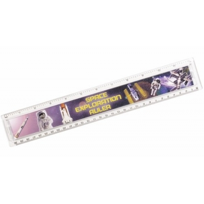 Space Exploration Ruler - 30cm