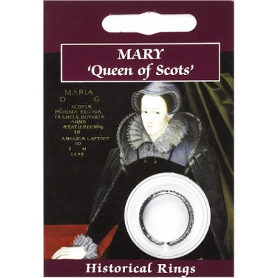 Mary Queen of Scots Ring - Pewter
