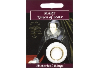 Mary Queen of Scots Ring - Gold Plated