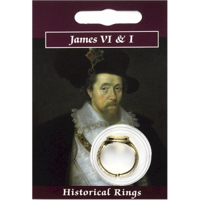 James VI & I Ring - Gold Pla..