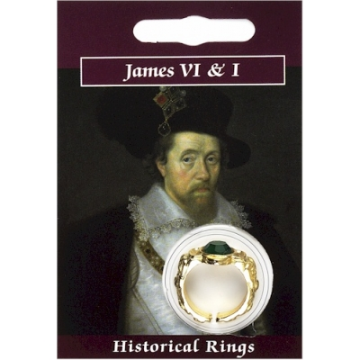 James VI & I Gem Ring - Gold..