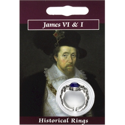 James VI & I Gem Ring - Pewt..