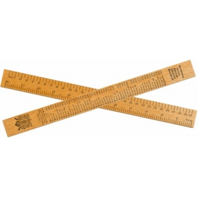 Scottish History Ruler - 30cm