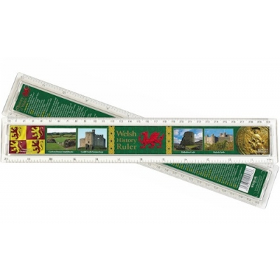 Welsh History Plastic Ruler ..