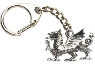Welsh Dragon Key-Ring