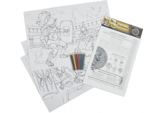 Roman Educational Colouring Posters
