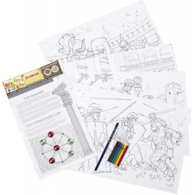 Roman Activity & Games Pack