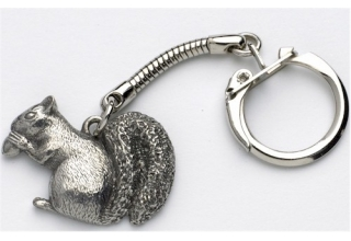 Squirrel Key-Ring