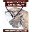 Sabre-Toothed Cat Pendant