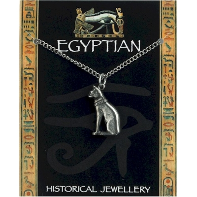Egyptian Cat Pendant Pe..