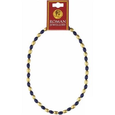 Roman Blue & Gold Bead ..