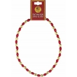Roman Red & Gold Bead N..