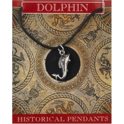 Dolphin Pendant - Pewter