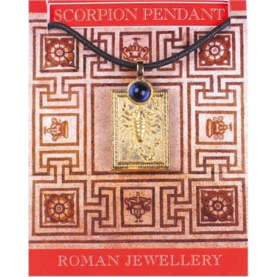 Scorpion Gem Pendant - ..