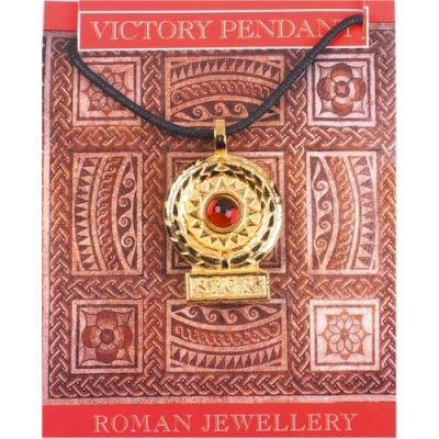 Victory Gem Pendant - Gold Plated