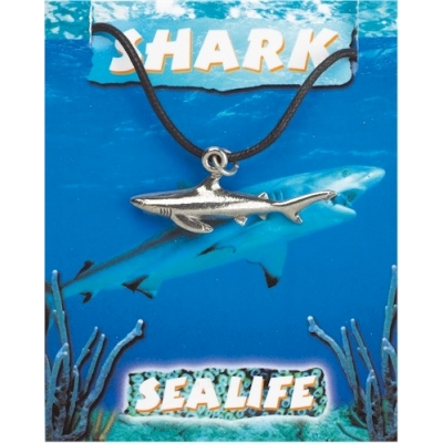 Shark Pendant - Pewter