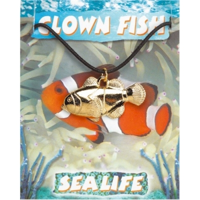 Clown Fish Pendant - Go..