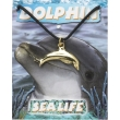 Dolphin Pendant - Gold ..
