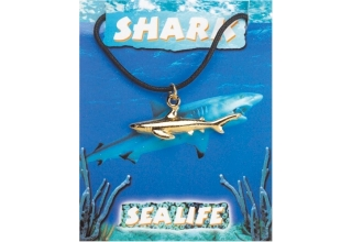 Shark Pendant - Gold Plated
