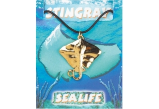 Stingray Pendant - Gold Plated