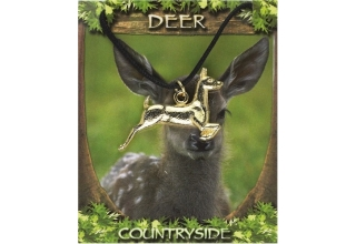 Deer Pendant - Gold Plated