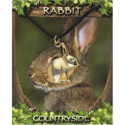 Rabbit Pendant - Gold P..