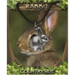 Rabbit Pendant - Pewter