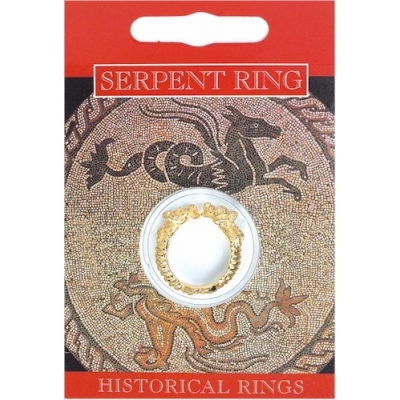 Serpent Ring - Gold Pla..