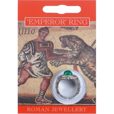 Emperor Gem Ring - Pewter