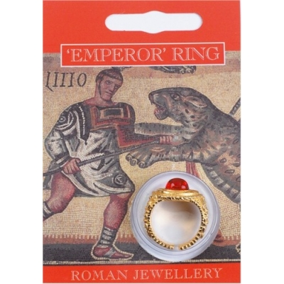 Emperor Gem Ring - Gold Plated