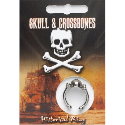 Skull & Crossbones Ring - Pewter