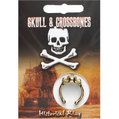 Skull & Crossbones Ring - Go..