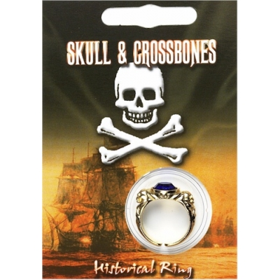 Pirate Gem Ring - Gold ..