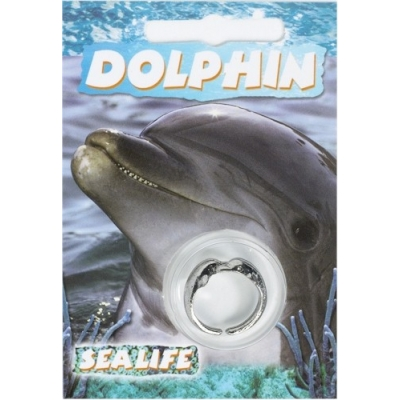 Dolphin Ring - Pewter