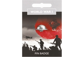 World War I Tommy Helmet Pin Badge