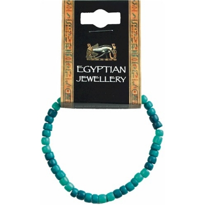 Egyptian Wooden Bead Br..