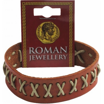 Roman Stitched Leather ..