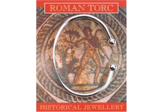 Roman Torc for women - Silver Plated