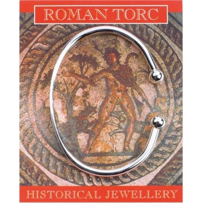 Roman Torc for women - Silve..