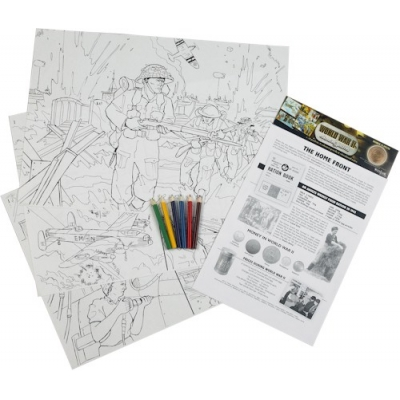 World War II Colouring ..