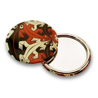 "Make Up Pocket Compact Mirror cosmetic M.C. Escher Art Pattern Pocket mirror, 7.7x7.7cm 3""x3"""